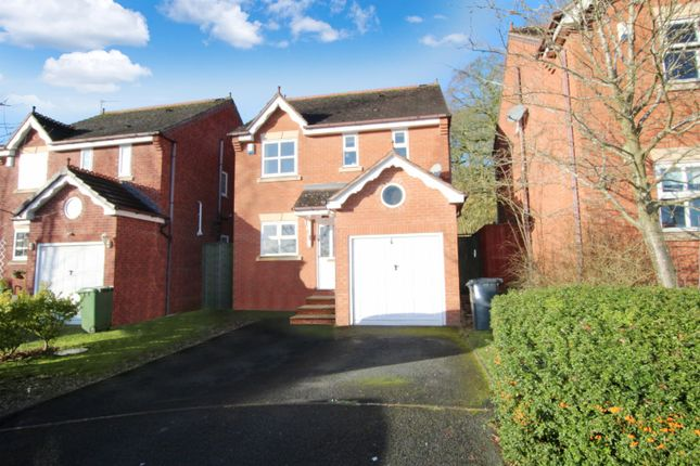 Thumbnail Detached house to rent in Atworth Close, Redditch