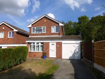 Thumbnail Detached house to rent in Meriac Close, Nottingham