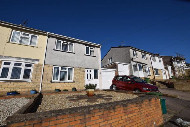 Thumbnail Semi-detached house for sale in Lowerdale Drive, Llantrisant, Pontyclun