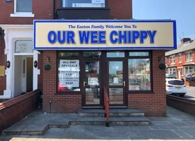 Thumbnail Restaurant/cafe to let in Our Wee Chippy, 127, Whitegate Drive, Blackpool