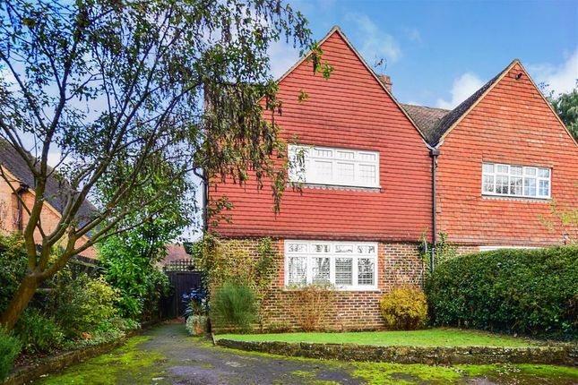Thumbnail Semi-detached house for sale in Castle Street, Bletchingley, Redhill, Surrey