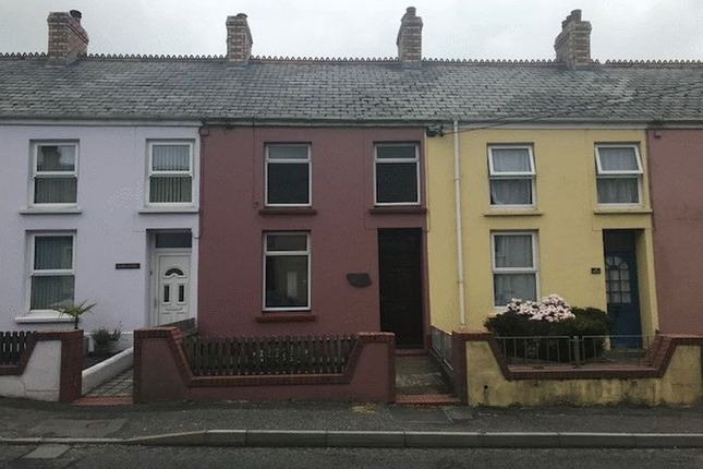 Thumbnail Terraced house to rent in Clynderwen