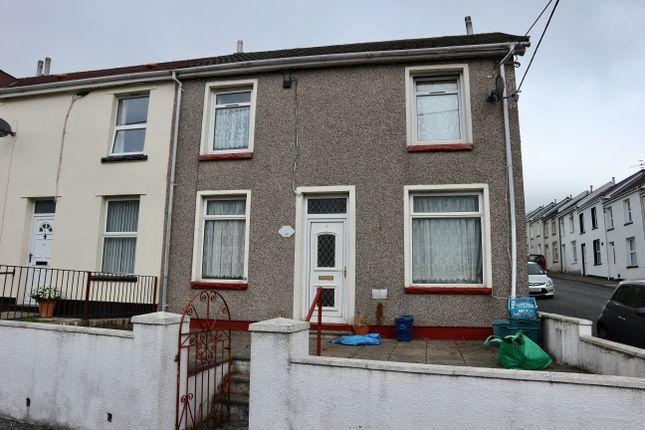 Thumbnail End terrace house for sale in Queens Road, Twynyrodyn, Merthyr Tydfil