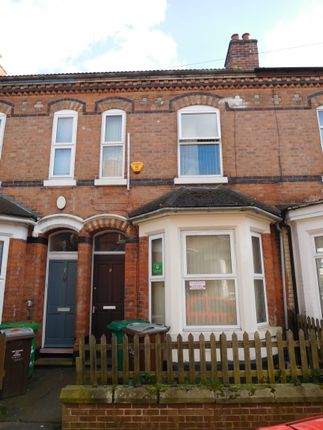 Thumbnail Terraced house to rent in Forest Grove, Nottingham