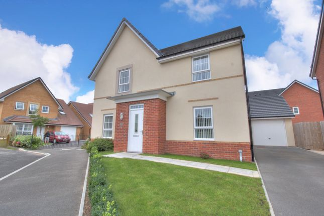 Thumbnail Detached house for sale in St. Johns View, St. Athan, Barry