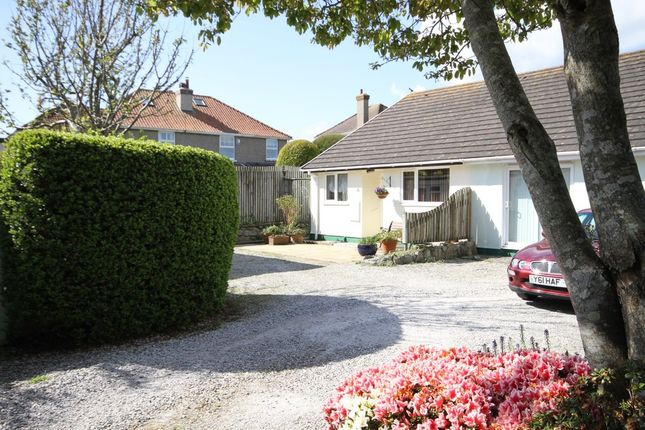 Thumbnail Semi-detached bungalow for sale in The Close, Cogos Park, Mylor Bridge, Falmouth