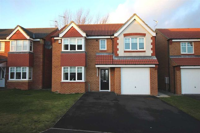 Thumbnail Detached house to rent in Heather Lea, Bebside, Blyth