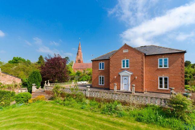 Thumbnail Detached house for sale in Gainsborough Road, Winthorpe, Newark, Nottinghamshire