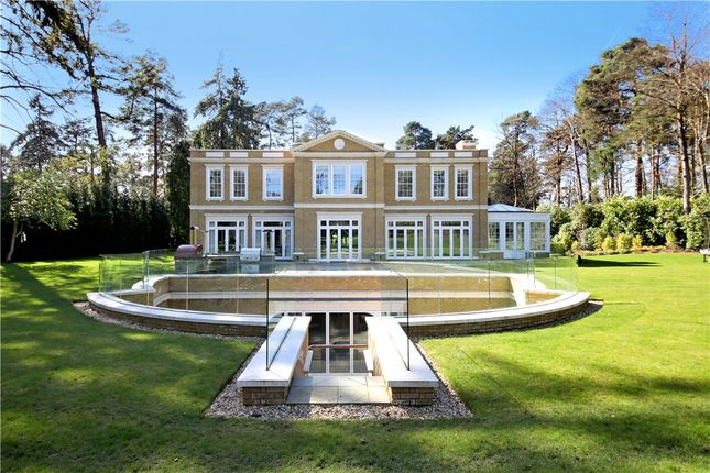 Thumbnail Detached house for sale in Lake Road, Wentworth, Virginia Water, Surrey