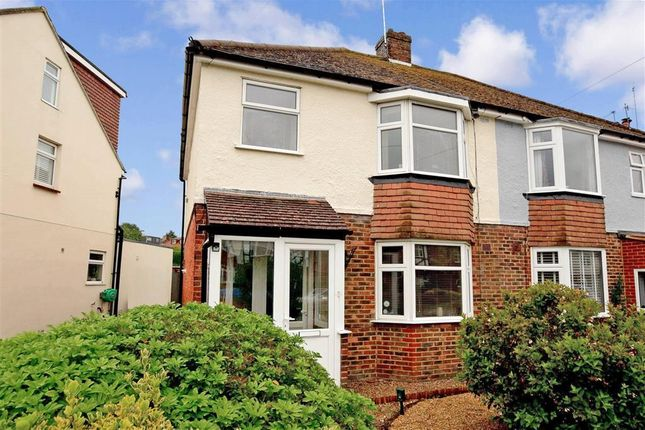 Thumbnail Semi-detached house for sale in Vale Avenue, Brighton, East Sussex