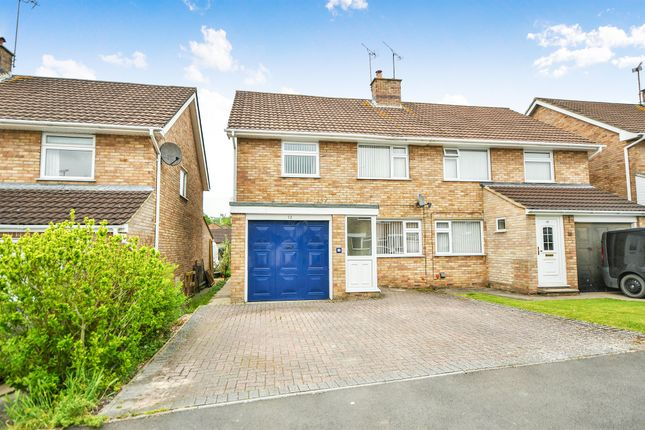 Thumbnail Semi-detached house for sale in St. Peters Close, Chippenham