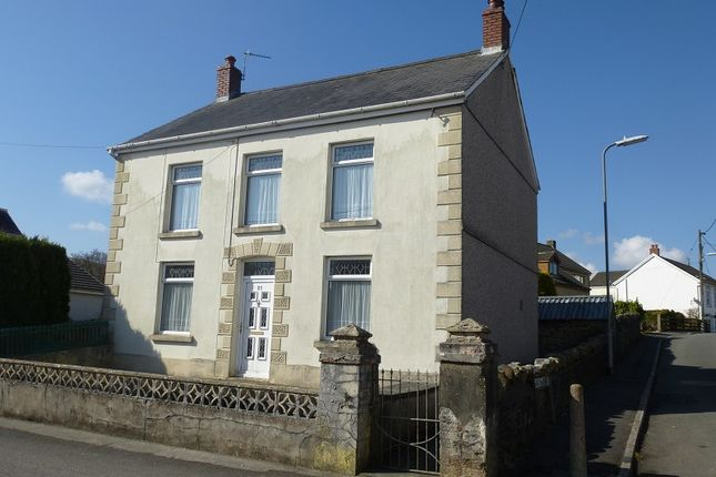 Thumbnail Detached house for sale in Llwyncelyn Road, Tairgwaith, Ammanford, Carmarthenshire.
