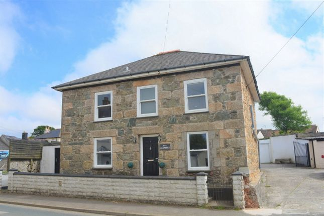 Thumbnail Detached house for sale in Connor Hill, Connor Downs, Hayle, Cornwall