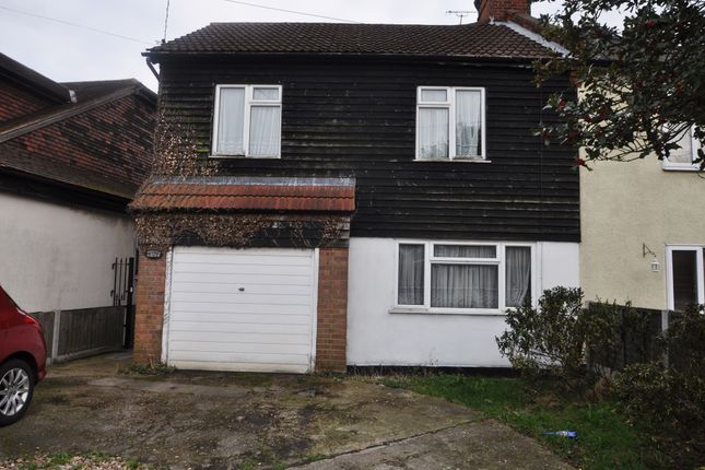 Thumbnail Semi-detached house for sale in Hart Road, Benfleet