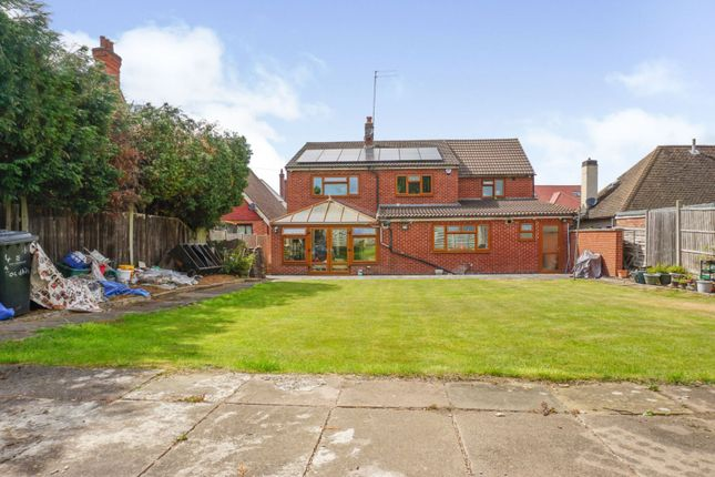 Rear View of Roundhill Road, Leicester LE5
