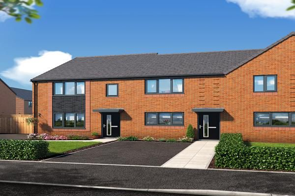 "Thumbnail Property for sale in ""The Haxby At Riverbank View "" at Concord Place, Salford"