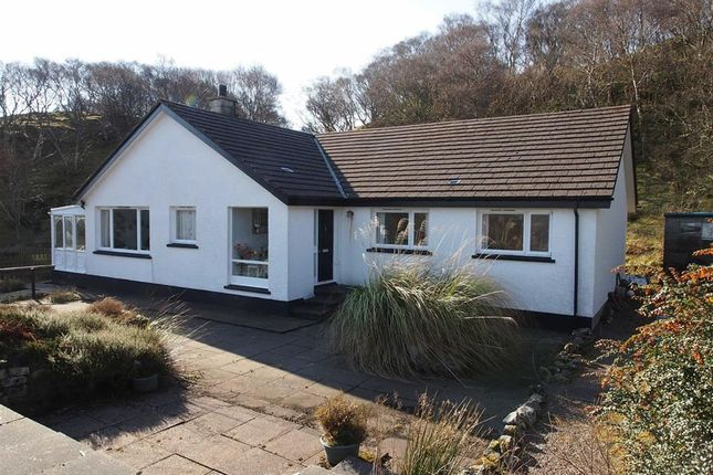 Thumbnail Detached bungalow for sale in Hillcrest, Badnaban, Lochinver