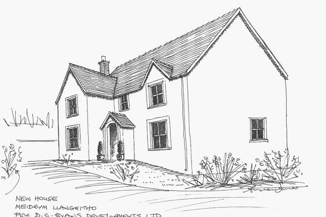 Thumbnail Detached house for sale in Adjacent To Meidrym, Llangeitho, Tregaron