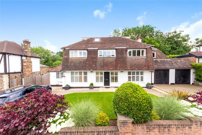 Thumbnail Detached house for sale in Ashmere Avenue, Beckenham