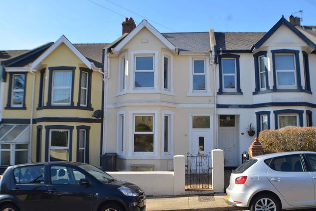 Thumbnail Terraced house for sale in Studley Road, Torquay