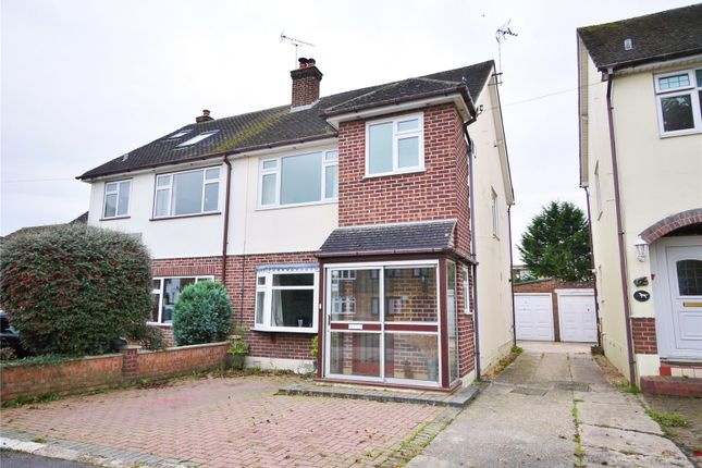 Thumbnail Semi-detached house for sale in Lime Grove, Doddinghurst, Brentwood, Essex