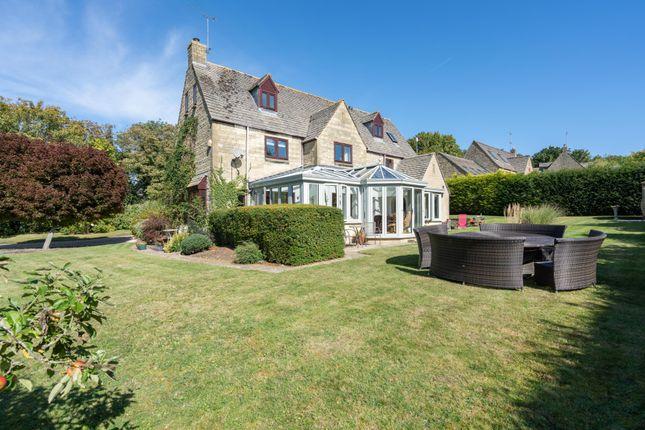 Thumbnail Detached house for sale in The Avenue, Stanton Fitzwarren, Swindon