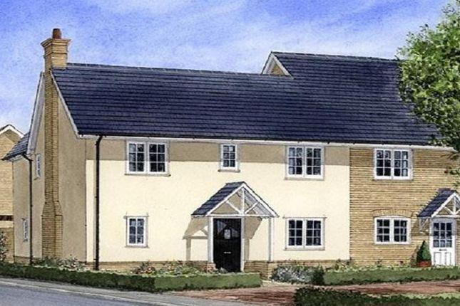 Thumbnail Semi-detached house for sale in The Roseate, Radwinter Road, Saffron Walden, Essex