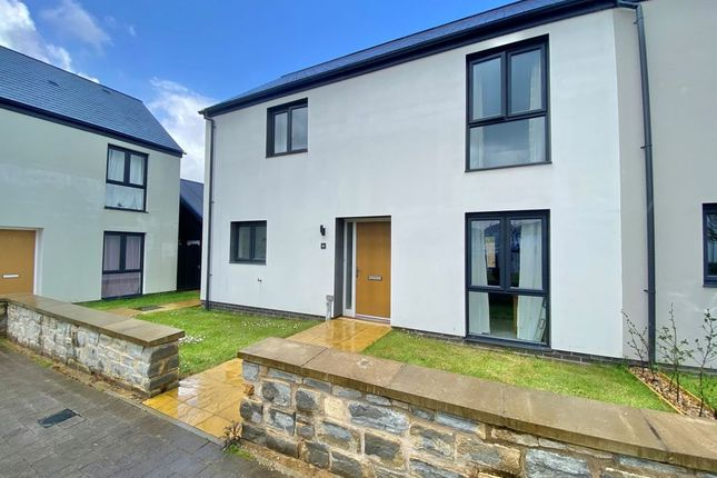 Thumbnail Semi-detached house for sale in Harford Way, Landkey, Barnstaple