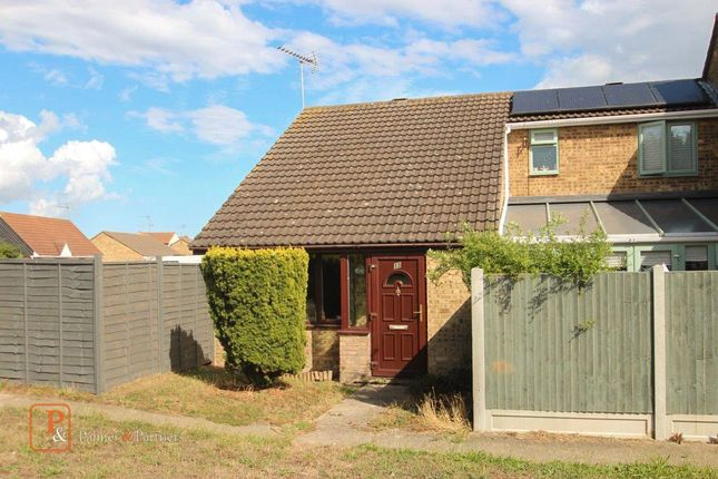 Thumbnail End terrace house to rent in Totteridge Close, Clacton-On-Sea