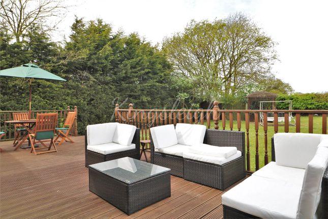 Garden Decking of Thorrington Road, Great Bentley, Colchester, Essex CO7