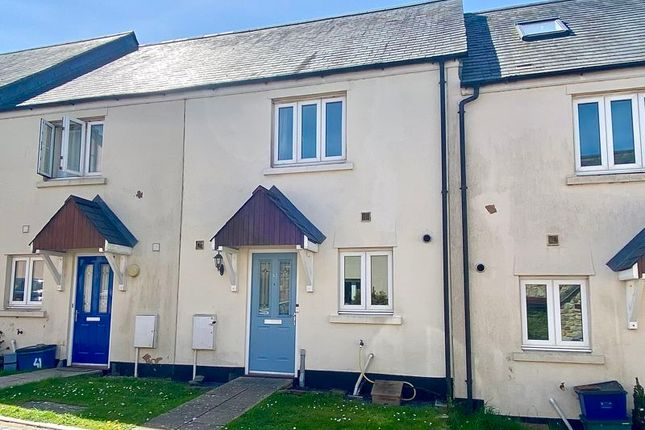Thumbnail Terraced house for sale in Strawberry Fields, North Tawton