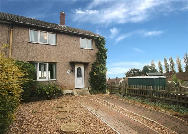 Thumbnail Semi-detached house for sale in Hill Estate, Upton, Pontefract