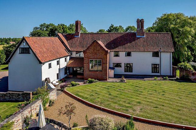 Thumbnail Detached house for sale in Long Row, Tibenham, Norwich