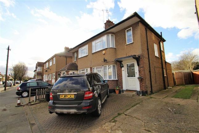 Thumbnail Semi-detached house to rent in Sussex Road, Ickenham, Middlesex