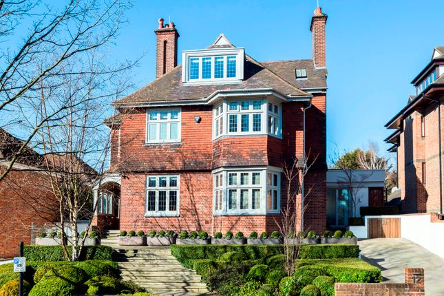 Thumbnail Detached house for sale in Oakhill Avenue, Hampstead Village