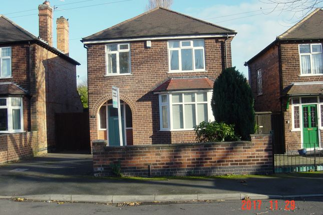 Thumbnail Detached house to rent in Central Avenue, Beeston, Nottingham