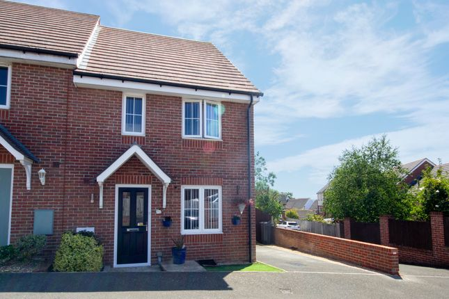 Thumbnail Semi-detached house for sale in Brinton Close, East Cowes