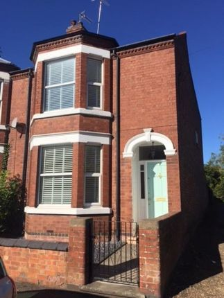 Thumbnail Semi-detached house to rent in Cromwell Road, Rugby, Warwickshire