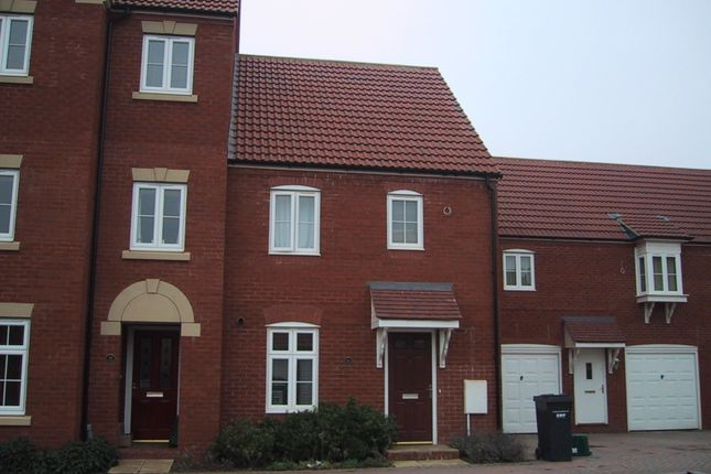 Thumbnail End terrace house to rent in Burge Crescent, Cotford St Luke, Taunton