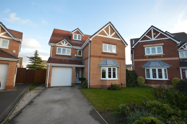 Thumbnail Detached house for sale in Fulford Park, Moreton, Wirral