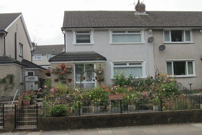 Thumbnail Semi-detached house for sale in Michaelston Road, Cardiff