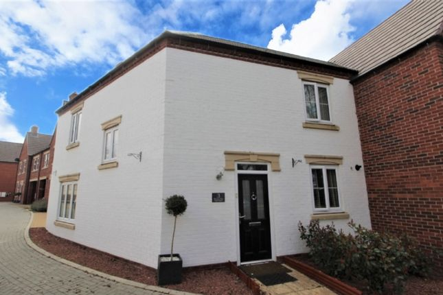 Thumbnail End terrace house for sale in Rainier Close, Newport Pagnell