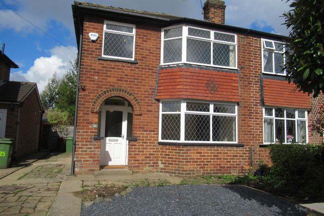 3 bed semi-detached house to rent in Knightsway, Halton, Leeds LS15