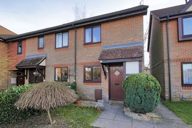 Thumbnail End terrace house for sale in Carlton Tye, Horley, Surrey