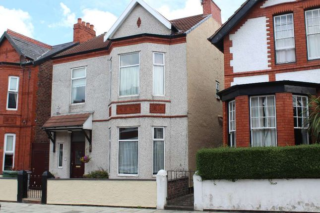 Thumbnail Detached house for sale in Grosvenor Drive, Wallasey