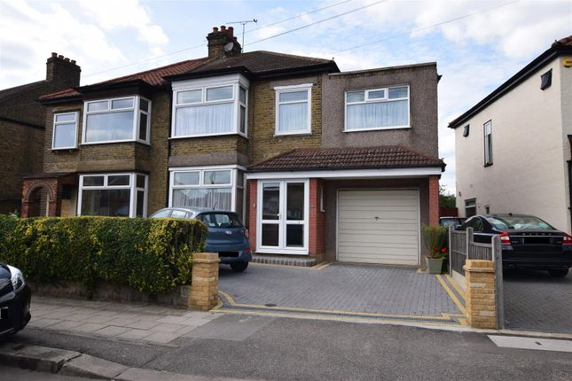 Thumbnail Semi-detached house for sale in Barley Lane, Chadwell Heath, Romford