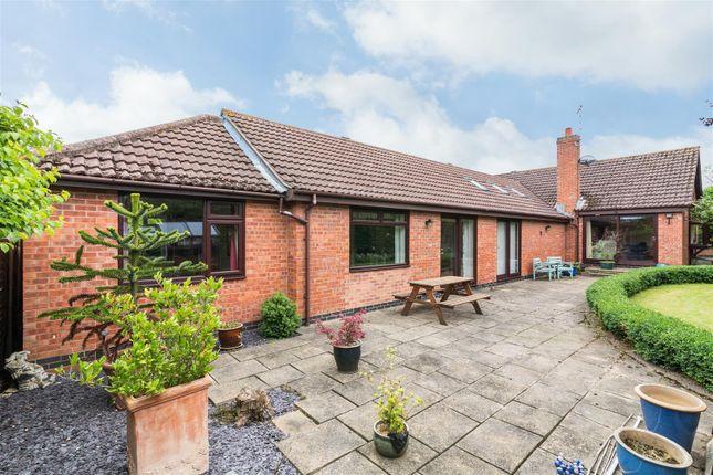 Thumbnail Detached bungalow for sale in Scrimshire Lane, Cotgrave, Nottingham