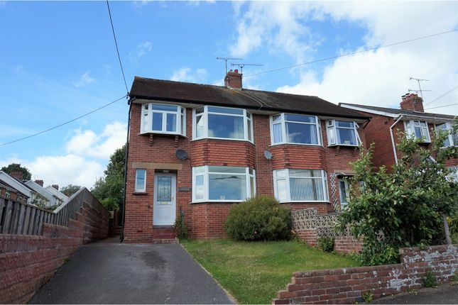 Thumbnail Semi-detached house for sale in Albert Road, Crediton
