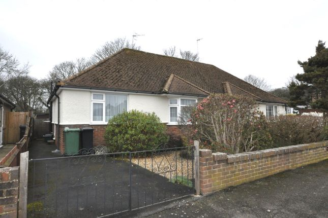 Thumbnail Semi-detached bungalow for sale in St James Cresent, Bexhill-On-Sea