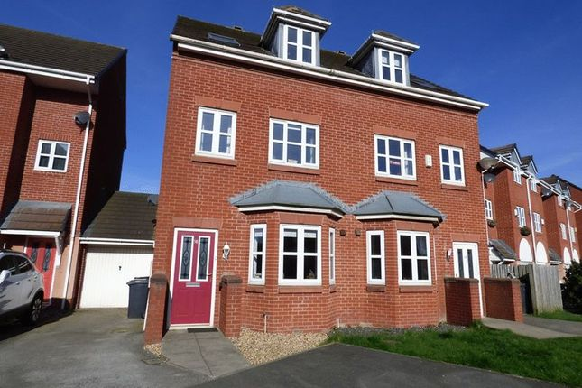 Thumbnail Town house to rent in Akeman Close, Morecambe